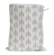 Zack & Tara Wet Bag - Arrows in Grey - Large
