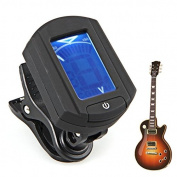 SunSunRise Clip On Auto Mini Guitar Chromatic Bass Violin Digital Tuner