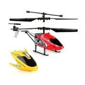 SunSunRise Mini 3.5CH Channel Metal Helicopter Gyro RC Radio Remote Control Toy Gift