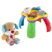 Fisher Price Laugh & Learn Puppy & Friends Learning Table and Smart Stages Puppy
