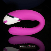 Constructan(TM) S-e-x Products USB Rechargeable C Bending Twisted V-i-b-r-a-t-or G Spot Di-l-d-o Stimulator 30 Speed V-i-b-r-a-t-or For Women S-e-x Toy for Couples