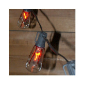 Flicker Flame Edison Lights With Dripping Blood Effect, 10 Lights