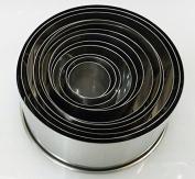 12 Pieces Round Cutter Set
