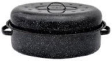 Granite Ware 0509-2 46cm Covered Oval Roaster