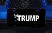 Trump Stick It Humour Aluminium Licence Plate for Car Truck Vehicles