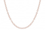 """14KT Rose Gold Filled Cable Necklace 1.6x2 mm 18"""""""