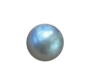 Top lustre round 14-15mm south sea cultured grey loose pearl .necklace pendant