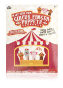 NPW Make Your Own Circus Finger Puppets Craft Kit