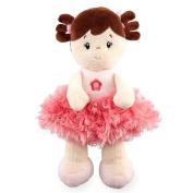 25cm Plush Pink Doll