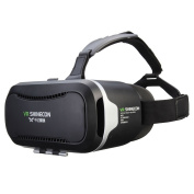 3D VR Headset, ELEGIANT Smart Virtual Reality 3D Glasses VR Games Home Theatre Helmet Headset for iPhone 6s/6 plus/6/5s/5c/5 for for for for for for for for for Samsung Galaxy s5/s6/note4/note5 and Any 4.0-15cm Smartphone