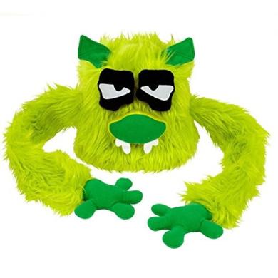 Hugalope Friends Hat Furry Puppet Monster Toy Kids Green