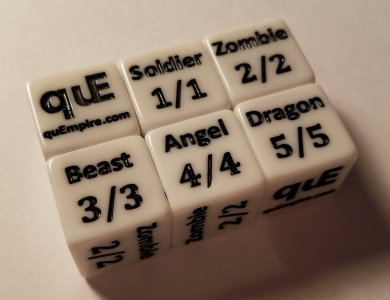 5x Token Creature Dice for Magic: The Gathering CCG MTG Dice Counter Tokens