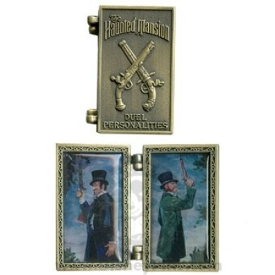 Disney Parks Collection - The Haunted Mansion Duel Personalities Pin - Duelers