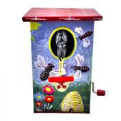 Woodpecker Bird Bank Tin Toy