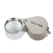 Stalwart Jewellers Eye Loupe Magnifier with Case