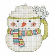 Frosty Mug Beaded Christmas Cross Stitch Kit 2015 Debbie Mumm Winter Cheer DM205103