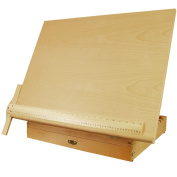 US Art Supply Extra Large Adjustable Wood Artist Drawing & Sketching Board With Storage Drawer