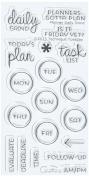 Technique Tuesday Clear Stamps 5.1cm x 10cm -Planner - Daily Grind