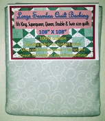 Quilt Backing, Large, Seamless, C48494-A02, Grey Rings