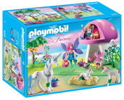 Playmobil 6055 Princess Fairies Playset With Toadstool House
