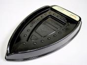 New Iron Heat Resistance Plastic Holder Stand Tray Ironing Dock Black Laundry