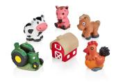 Horizon Paint & Colour Farm & Animals Figurines, Ceramic Diy Craft Kit