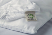 Organic Cotton Crib Sheet by Whisper Organic- GOTS Certified, 300 Thread Count, Sateen , Luxury Super Soft Highest Quality Best Price