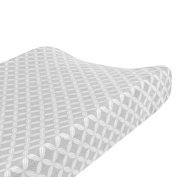 Just Born Valboa Changing Pad Cover, Hampton Grey