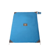 Mini Monkey Mat - 1.5mx0.9m Portable Multi-Purpose Mat - Blue Yonder