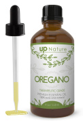 UpNature The Best Wild Oregano Oil 120ml - 100% Pure & Natural, Undiluted & Unfiltered, Premium Quality With Glass Dropper - Oil Of Oregano Is Perfect For Use For Colds, Sore Throats, Coughs & Candida