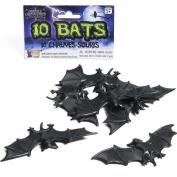 Bag of 10 Plastic Bats