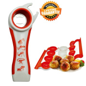 Bottle Opener Jar Opener Rheumatoid Arthritis Products Aids For Hands Seniors Twister Grip Lid Seal Remover Lid Twist Off With Meatballer Maker Stuffer. Kitchen Gadgets And Tools Set