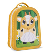 Green Frog Friends Lunch Bag, Lunch Box, School Bag, Backpack, For Toddlers and Little Kids Boys and Girls, Cute Deer Design