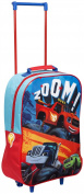 Children Kids Official Blaze & Monster Machine Design Travel Luggage Trolley Bag