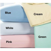 Cot Flannelette Fitted Sheet Junior Toddler Baby 100 % Brushed Thermal Cotton Cot Bed Size, Cream