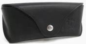 Gusti Leder studio Genuine Leather Glasses Sunglasses Case Holder Pouch Vintage Accessory Unisex Black 2A113-33-2