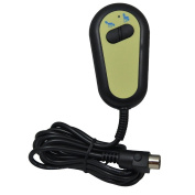 Economy 2 button handset controller for single motor riser recliner chairs - 5 pin connector