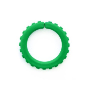 ARK's Brick XXT Textured Chew Bracelet Made in the USA Chewelry (Forest Green, Extra Extra Tough) - Small