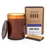 Dark Cassis Kobo Soy Candle From The Woodblock Collection