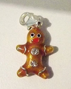 Cameleon-Shop Silver-Plated Charm Gingerbread Man