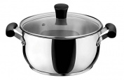 Lagostina 12899031224 Opera Stainless Steel Saucepan with Lid 24 cm