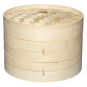 2 Tier Traditional Bamboo Steamer