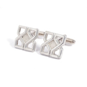 Celtic Knotwork 10 Years Anniversary Cufflinks - 10 Year Anniversary Made From 100% Tin