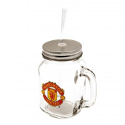 Official Manchester United FC Mason Jar