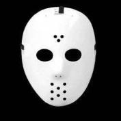 Jason White Hockey Face Mask Friday 13th Freddy Purge Halloween Eva Fancy Dress