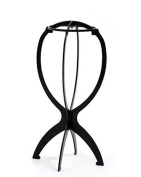 Durable Stable Folding Wig Stand Cap Holder Stand Collapsible Wig Hat Cap Stand Holder