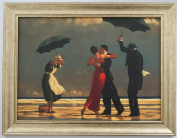 The Singing Butler by Jack Vettriano Framed Canvas Effect 55cm x 42cm Art Print Picture