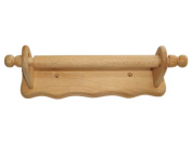 Wooden Wall Mounted Kitchen Paper Roll , Wall Towel Holder Rail-Hevea Wood by Apollo
