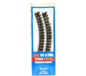 Peco ST-412 Setrack No.1 Radius Double Curves (Pack of 4) OO-9 Gauge