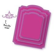 Couture Creations Nesting Dies-Inverted Corner Frames